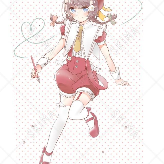 キャラクターデザイン★絵描きさん