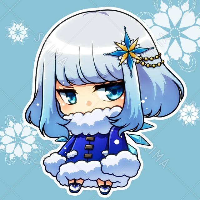 雪の精霊adopt