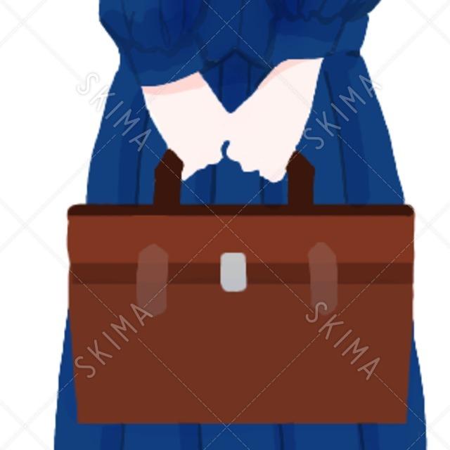 セーラー服の女の子立ち絵