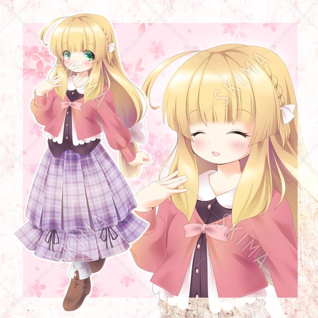 ファンタジー少女(花)