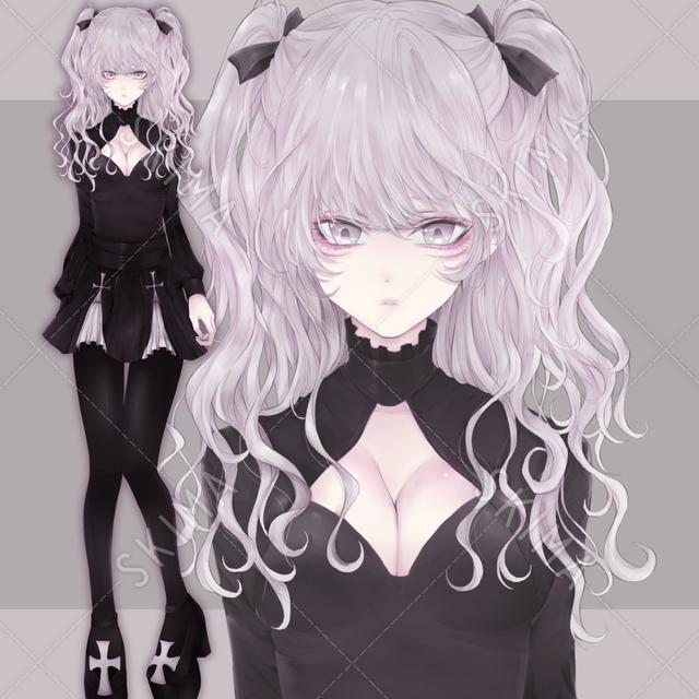 銀髪の女の子