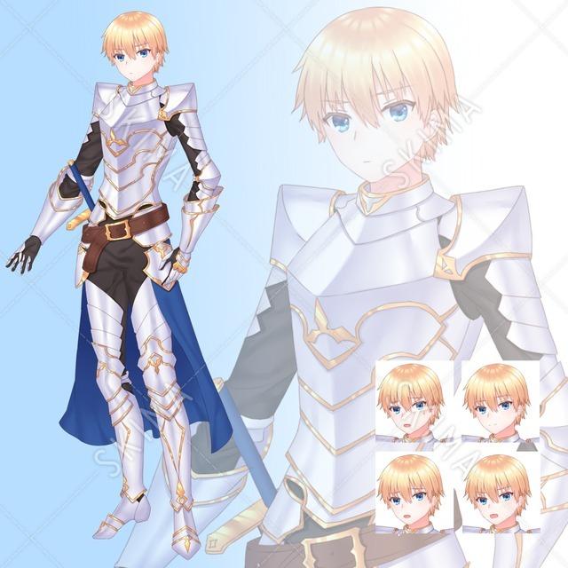 騎士【表情5種】