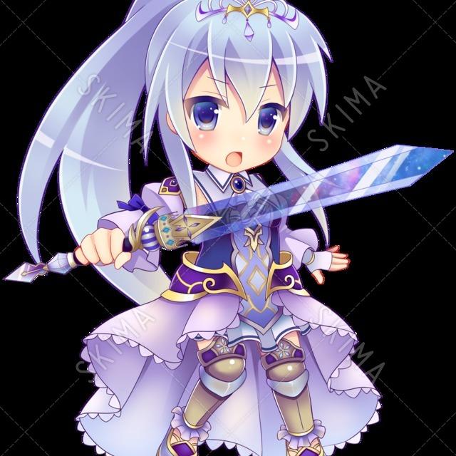 シンデレラ風姫騎士