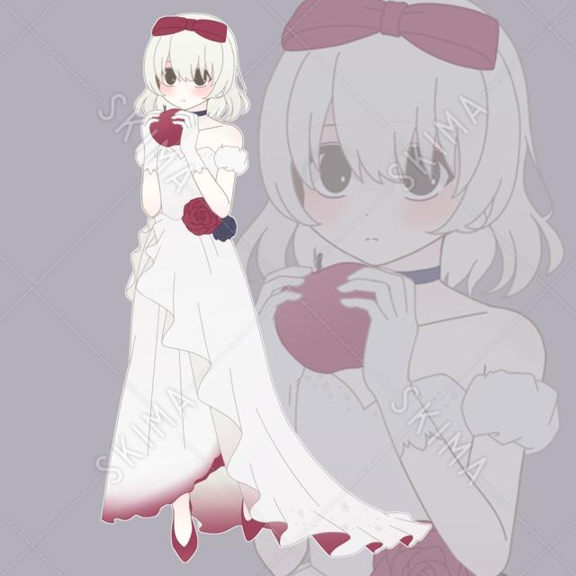 白雪姫モチーフの女の子(期間限定値下げ)