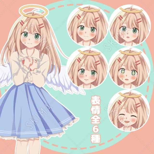 【SALE】警戒心が強めな天使の女の子