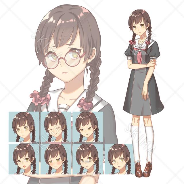 学生の女の子