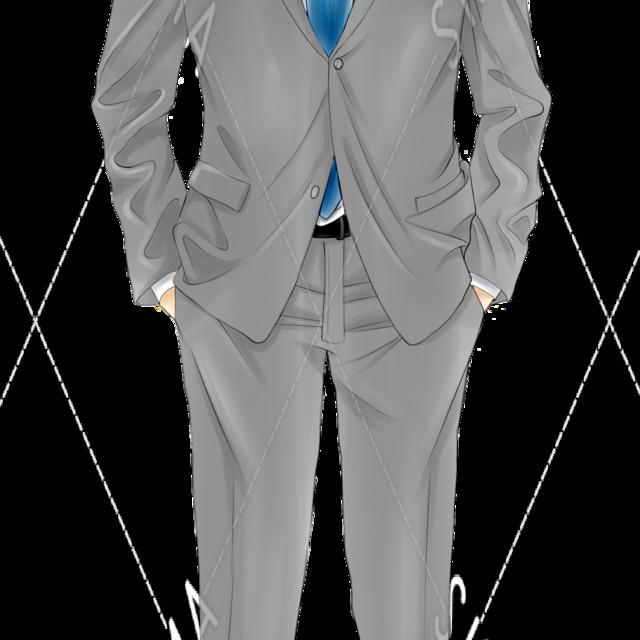 スーツ男性 (スーツ男子・メガネ男子)