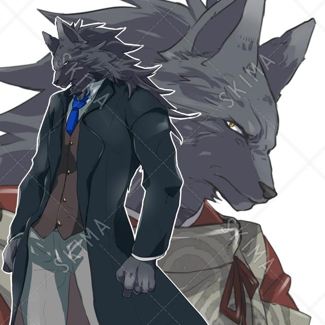 獣人/狼/和・洋