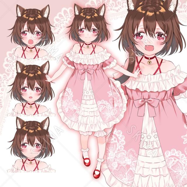子猫の女の子