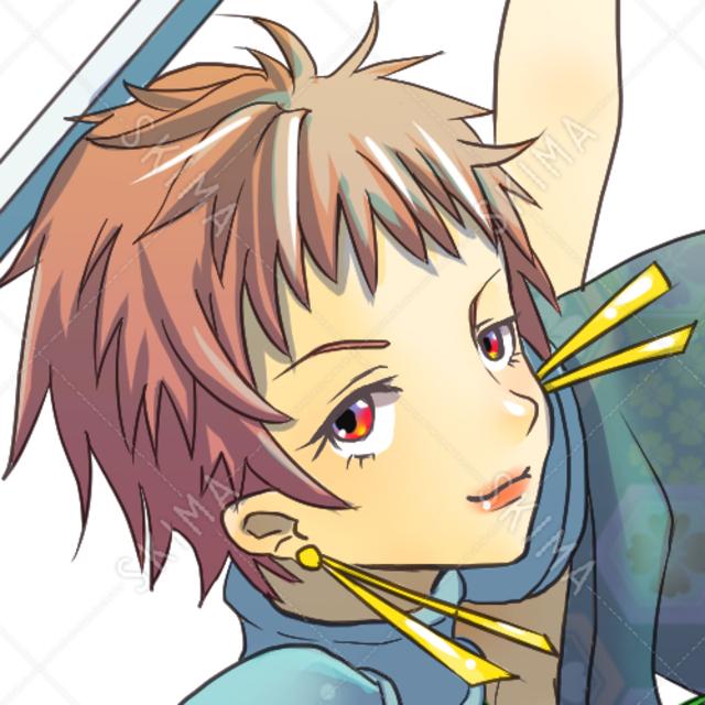 剣士(表情9種)
