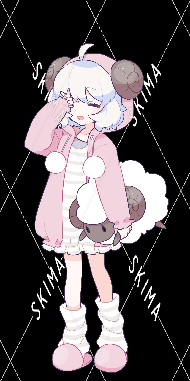羊パジャマの女の子 スキマ スキルのオーダーメイドマーケット Skima