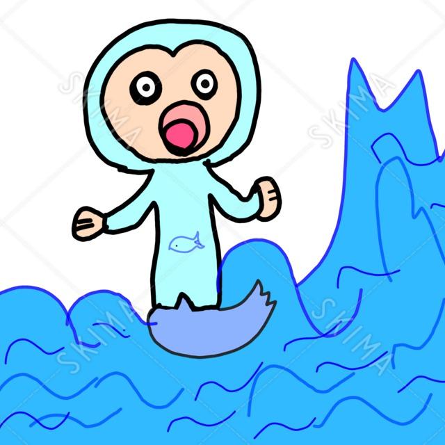 謎の海の生物