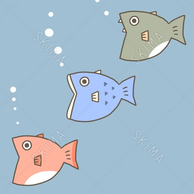 変な魚詰め合わせ 10枚