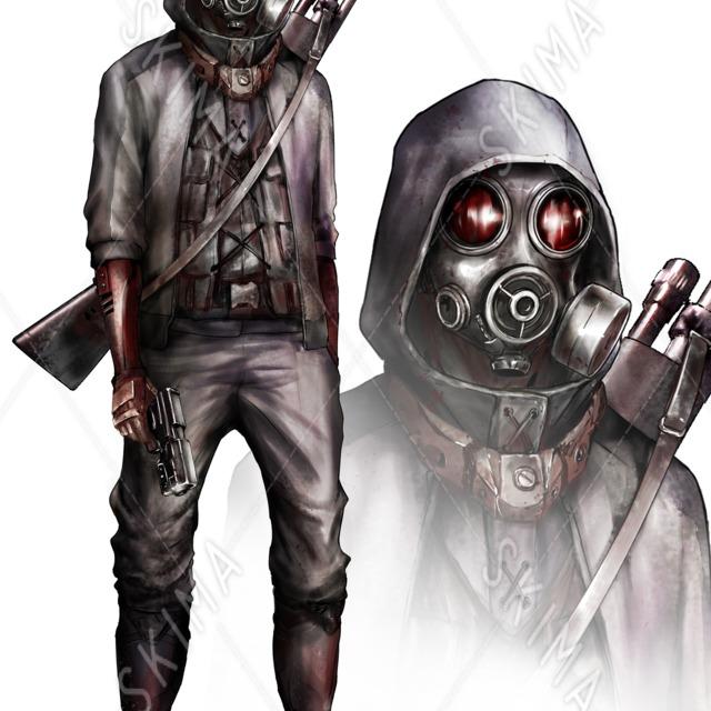 ガスマスク(サイコ系)