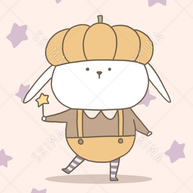 かぼちゃの妖精 10枚