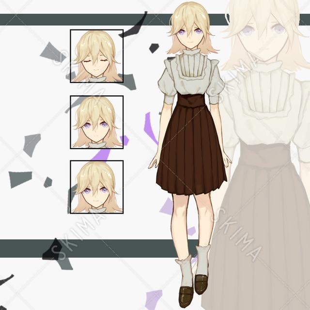 洋服の女の子