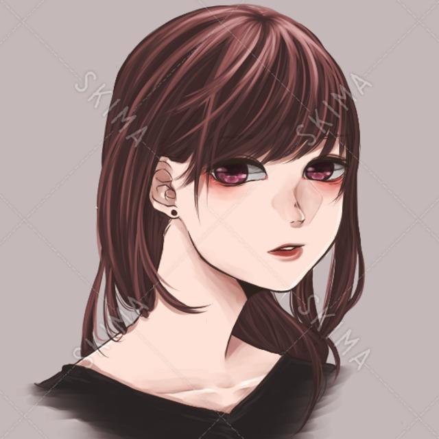 SNSアイコン向け/女の子