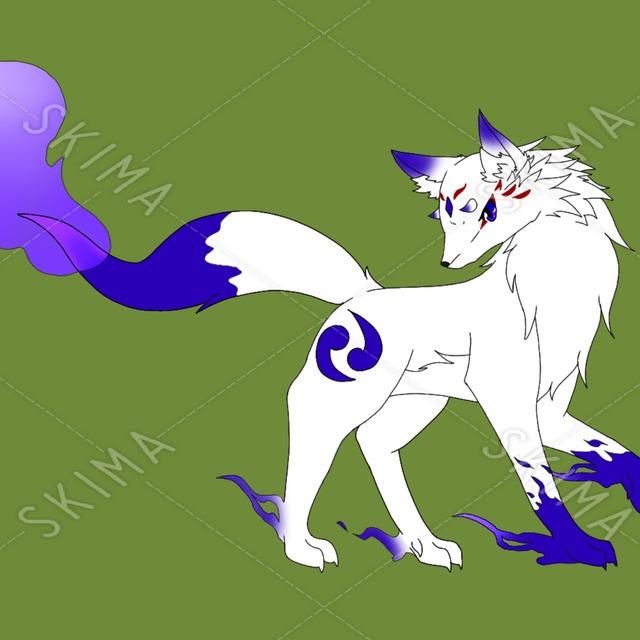 青火の妖狐