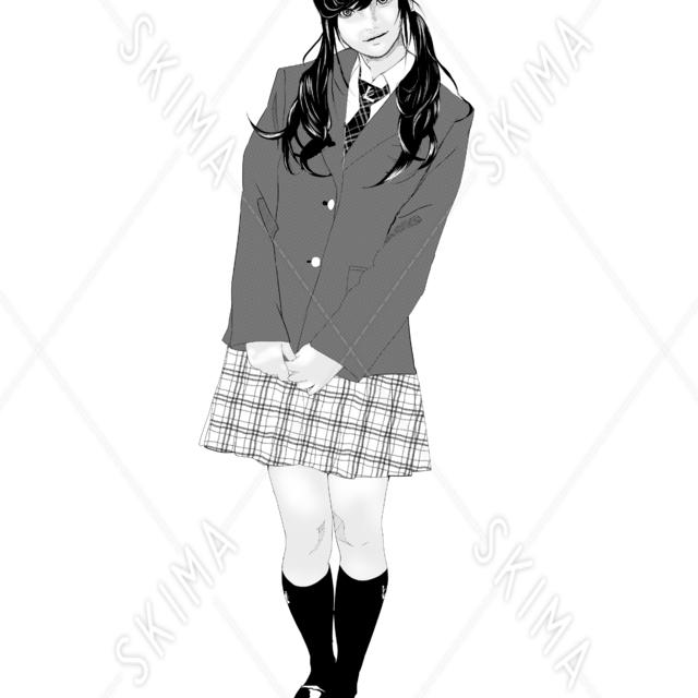 女子高生【アンドロイド風】
