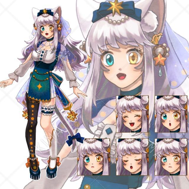 獣耳×女性キャラクター