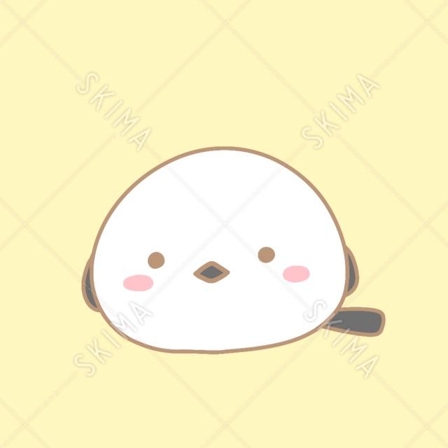 まるまるシマエナガ【全10枚表情ポーズ差分】