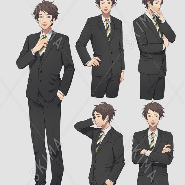 スーツのおにいさん1