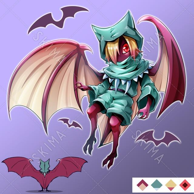 【値下げしました】蝙蝠獣人