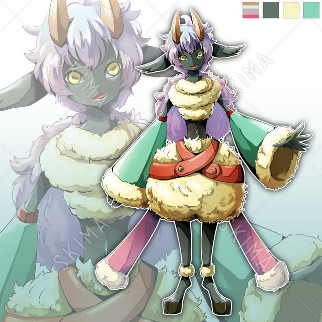 【値下げしました】羊獣人