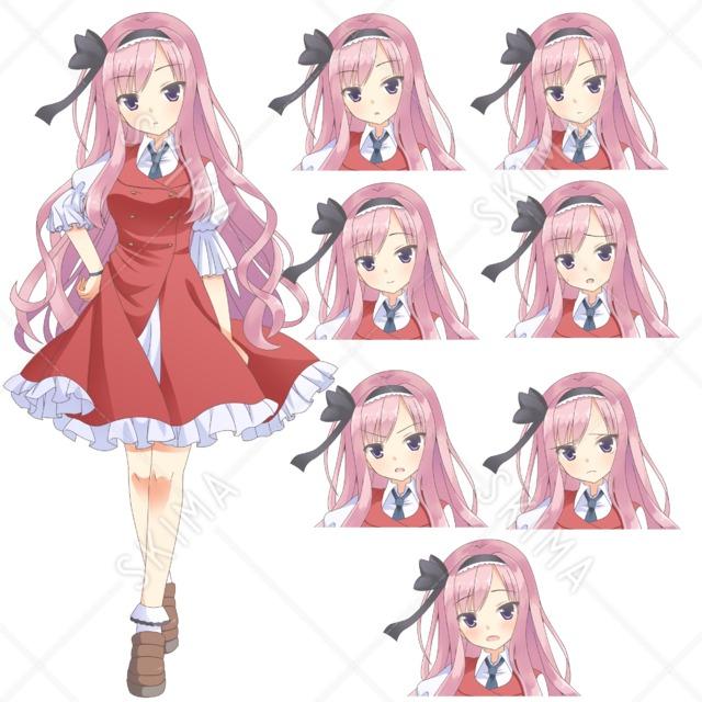 ピンク少女