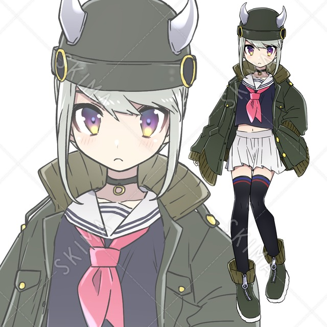 【SALE】ツノ帽子少女【12/20まで】