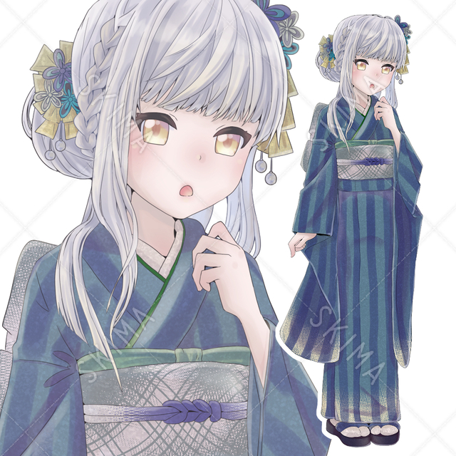 和服の女の子2