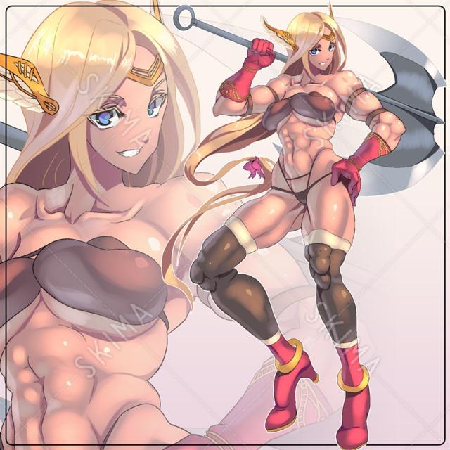 筋肉アマゾネス