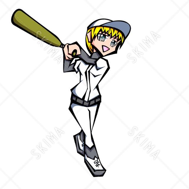 野球(バッター女子)