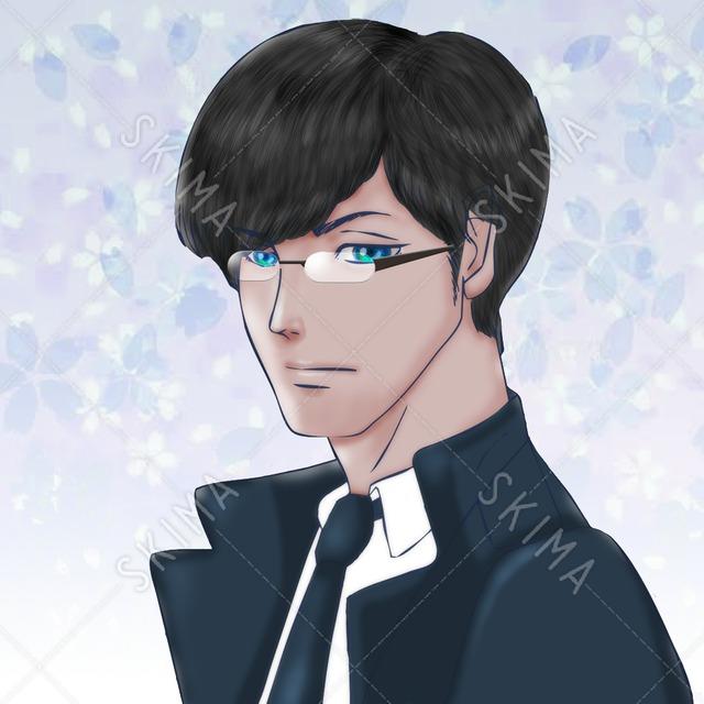 私服の執事アイコン【値下げ】