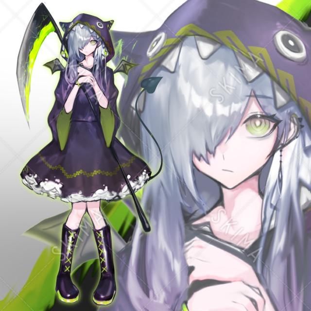 【値下げ】緑悪魔ちゃん