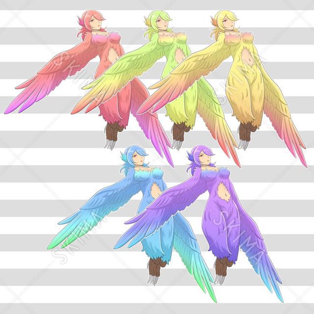 ハーピー【カラー5種】
