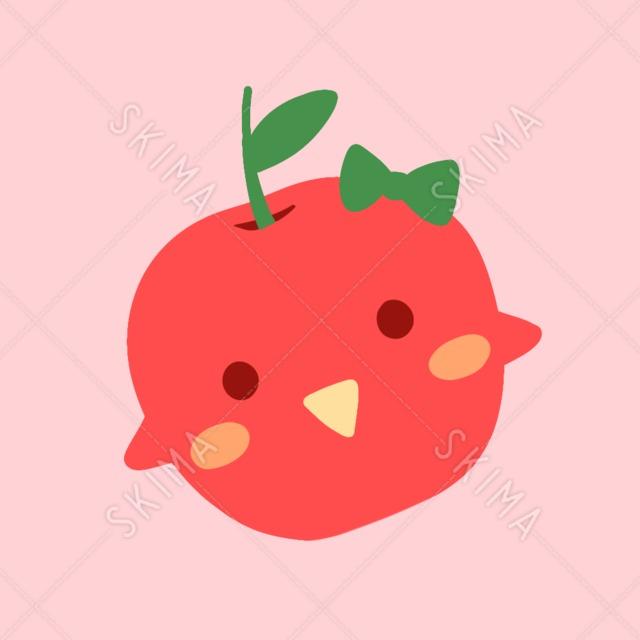 主線無しリンゴ【全11枚表情ポーズ差分】