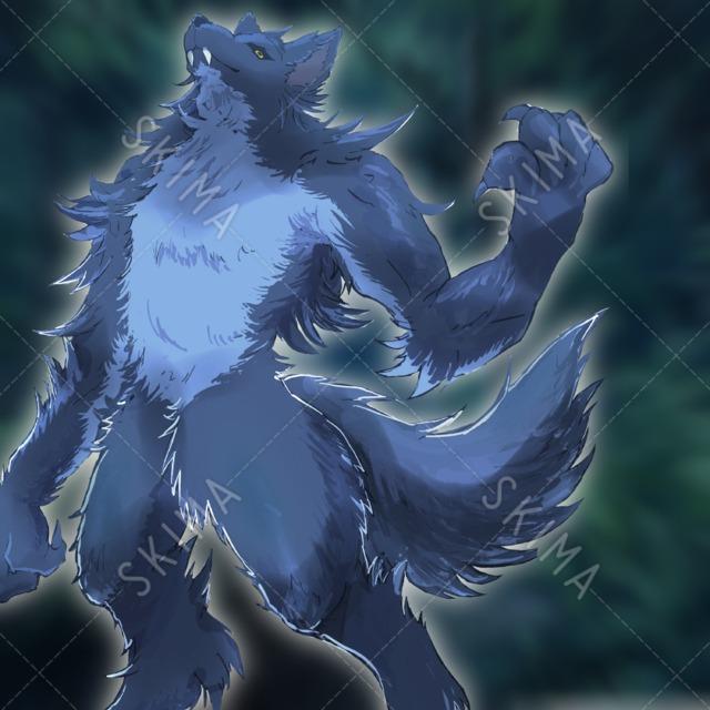 【最終値下げ】狼系 獣人 ウルフ モンスター