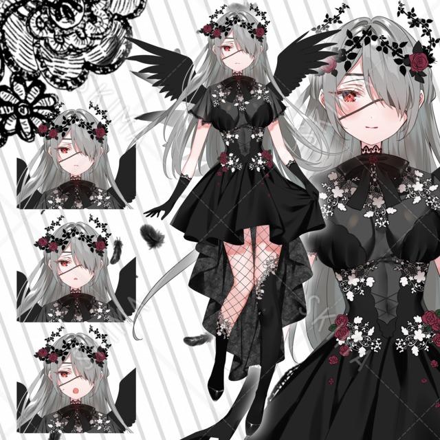 【値下げ中】黒天使