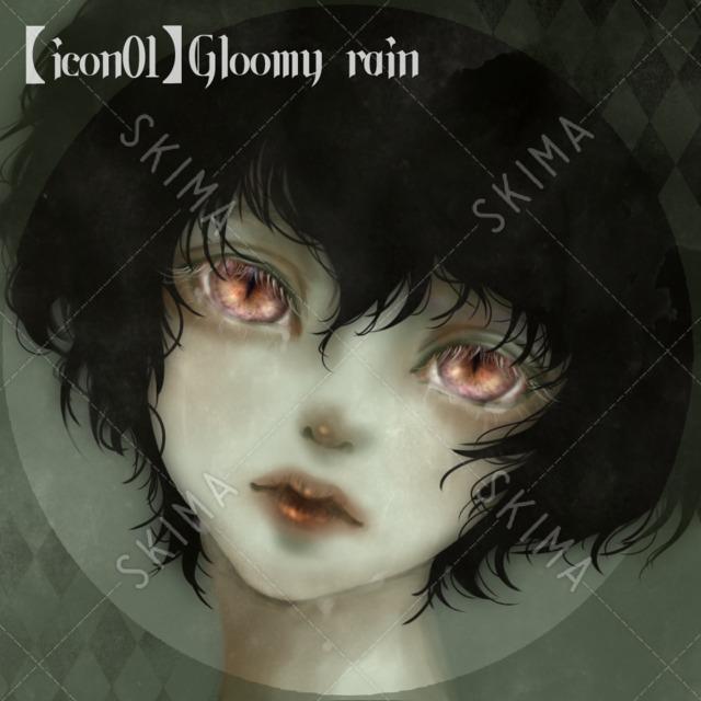【icon】Gloomy rain