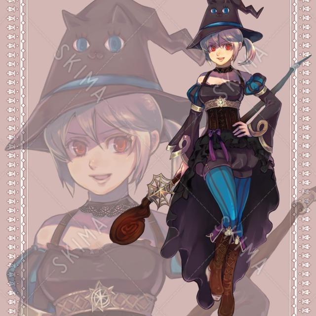 猫帽子の魔女