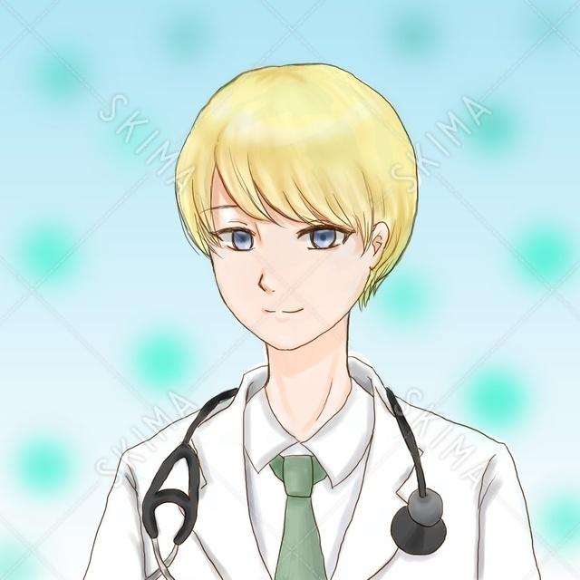 SNSアイコン  金髪医師