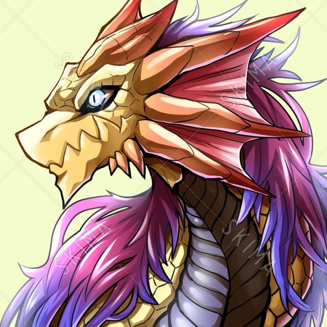 【アイコン+デザイン販売】ドラゴン