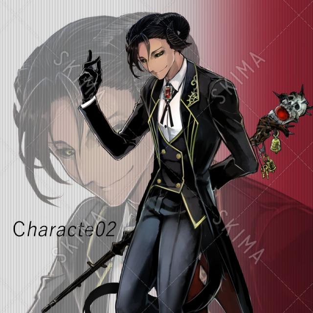 character02 悪魔っぽい青年