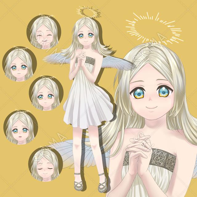 天使 女の子