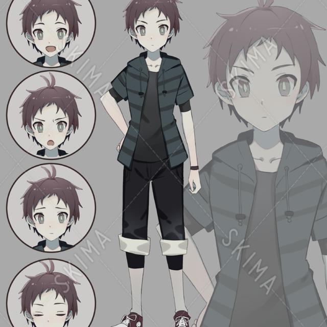 【ゲーム制作・TRPG用】スニーカー少年