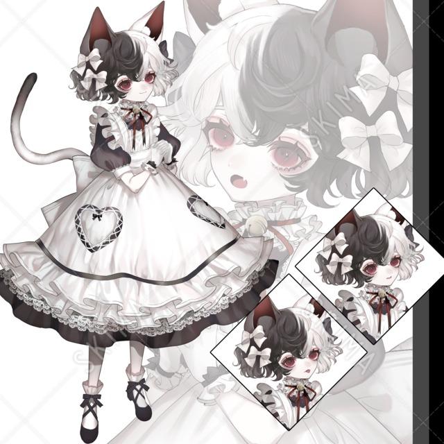 ツートーン猫ちゃん