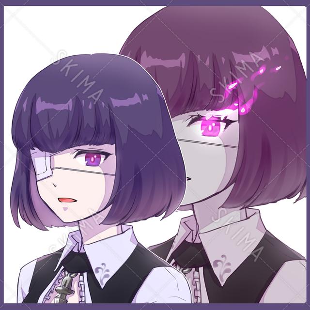 女性/眼帯 2種