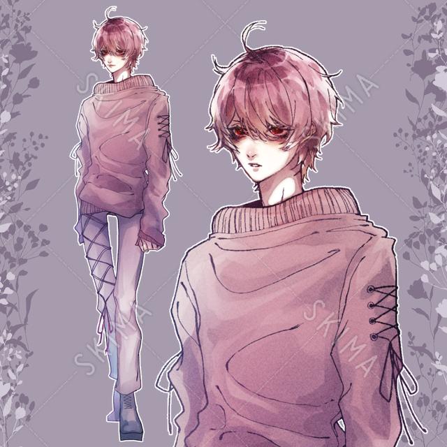 Red boy・10種