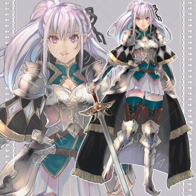 鎧の女性騎士